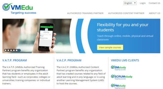 Lex Nimble is authorized partner of VMEdu